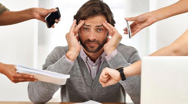 Razones para el estrés laboral