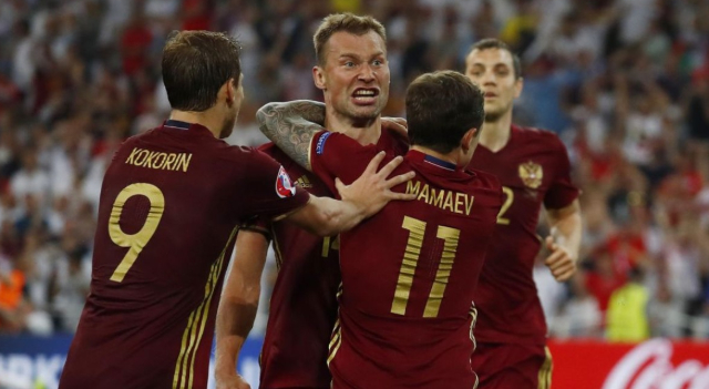 Selección de futbol Rusia