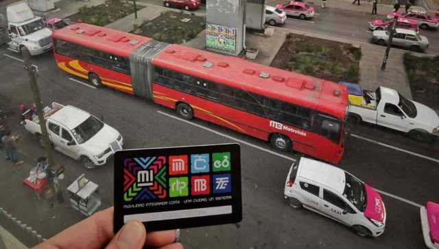 Tarjeta del metrobús