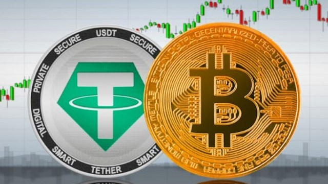 Tether y Bitcoin