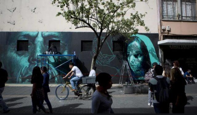 Imagen: Graffiti en construcciones de la CDMX, 21 de octubre de 2019 (Imagen: Especial)