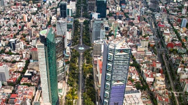 Imagen: Edificios en la Ciudad de México, 30 de octubre de 2019 (Imagen: Especial)