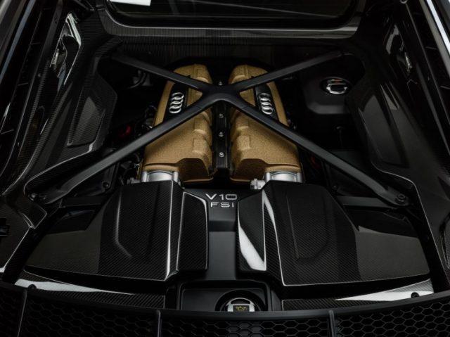 Imagen: El Audi R8 V10 Decennium tiene un potente motor, 18 de octubre de 2019 (Imagen: Especial)