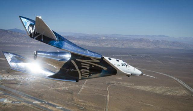 Imagen: Nave de empresa privada realiza pruebas para ir al espacio, 17 de octubre de 2019 (Imagen: Especial)
