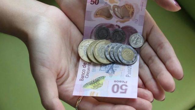 sueldo dinero mexicano billetes