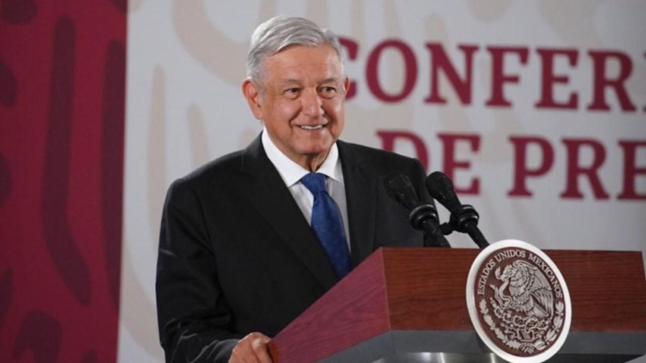 Imagen: El presidente Andrés Manuel López Obrador durante su conferencia matutina, 1 de noviembre (Imagen: Especial)