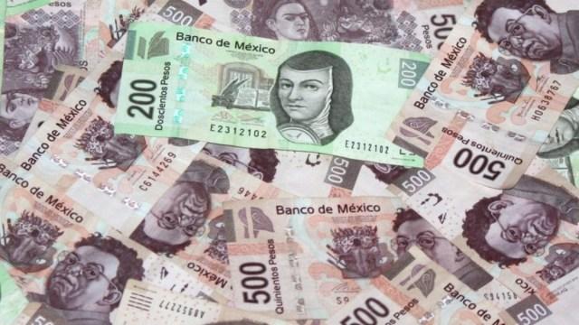 Imagen: Mosaico de billetes mexicanos, 25 de noviembre de 2019 (Imagen: Especial)