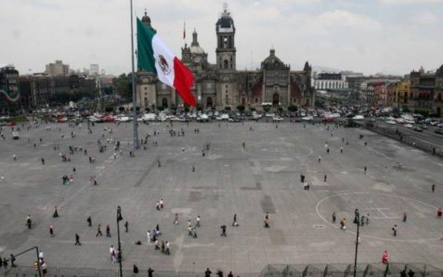 Imagen: Plaza de la Constitución en la Ciudad de México, 26 de noviembre de 2019 (Imagen: Especial)