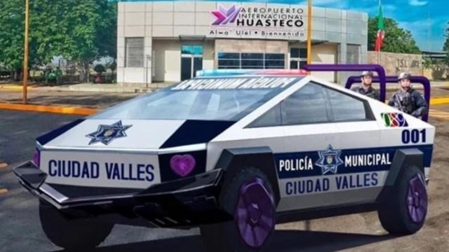 29 de noviembre de 2019, Tesla, Patrullas, Ciudad Valles San Lui Potosí, Elon Musk, patrullas que circularán Ciudad Valles, San Luis Potosí (Imagen: Especial)