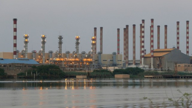 Imagen: Yacimiento petrolero Irán, 11 de noviembre de 2019 (Imagen: Especial)