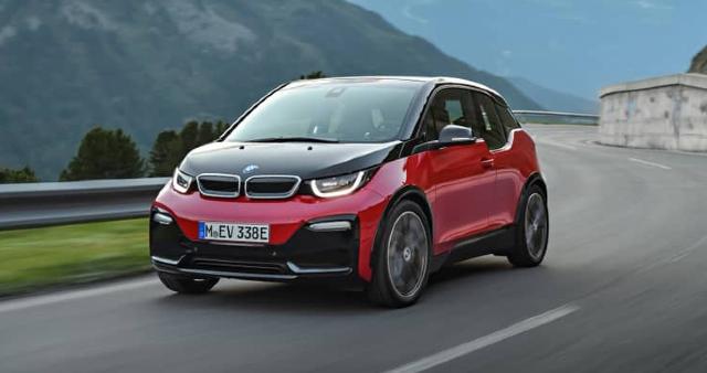 23 de diciembre 2019, Auto eléctrico de BMW, Auto, coche, vehículo, auto eléctrico