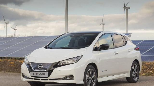 23 de diciembre 2019, Auto eléctrico de Nissan, Autos, Coche, Auto eléctrico, Nissan
