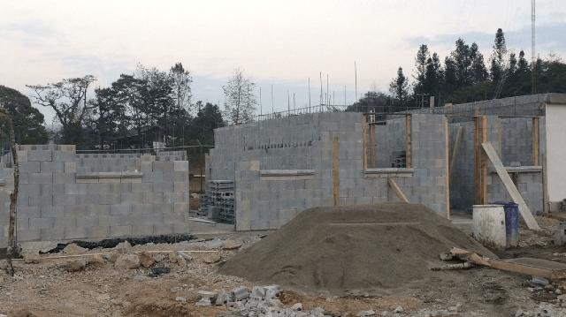 12 de diciembre 2019,Construcción de casas, casa, construcción, terreno, trabajos, obra