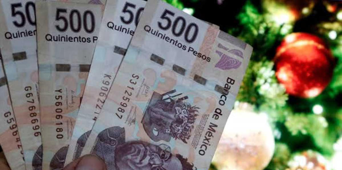 05 diciembre 2019, multa por no pagar aguinaldo, dinero, billetes de 500 pesos, billetes, aguinaldo, dinero, efectivo