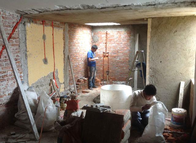 12 diciembre 2019, Remodelación de casas, trabajadores, crédito Fovissste, empleados, construcción, remodelación