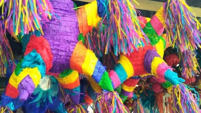 4 de diciembre de 2019, piñatas, posadas, dinero, piñatas están listas para ser usadas en posadas (Imagen: Especial)