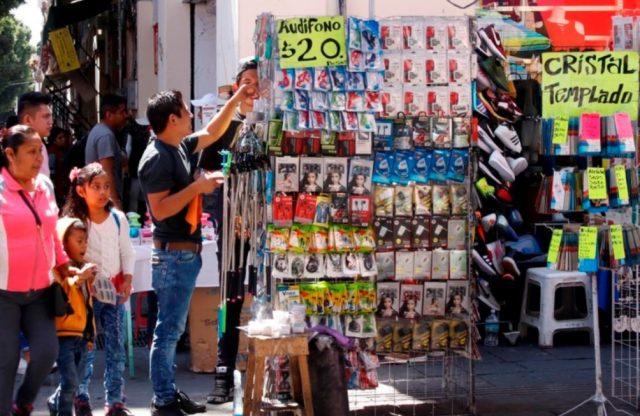 Reabrirá el Centro Histórico, Comerciantes ambulantes, vendedores ambulantes,