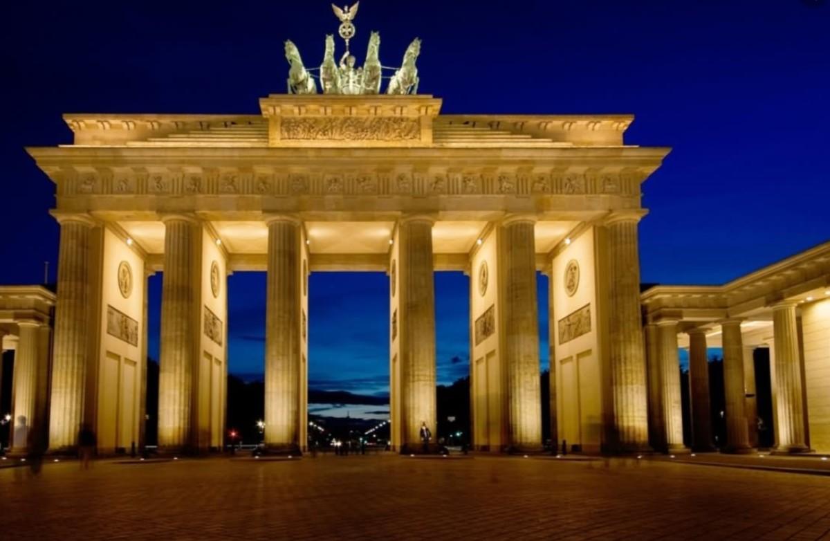 9 de diciembre de 2019, puerta de Brandenburgo, Alemania (Imagen: Especial)