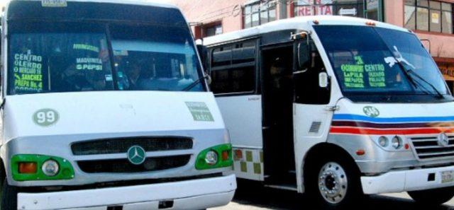 19 de diciembre de 2019, transporte público, Edomex, dinero, unidades de transporte público en el Estado de México (Imagen: Especial)