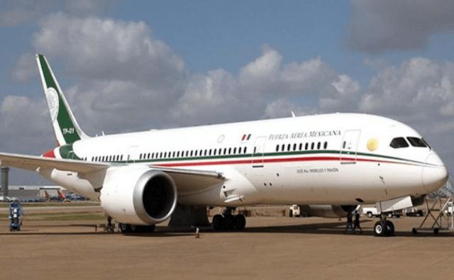 14 de enero 2020, avión, presidencial