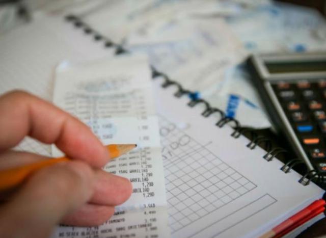 06 de enero 2020, Declaración mensual SAT, Recibo, Calculadora, Contribuyente, Declaración, Factura, Calculadora, SAT