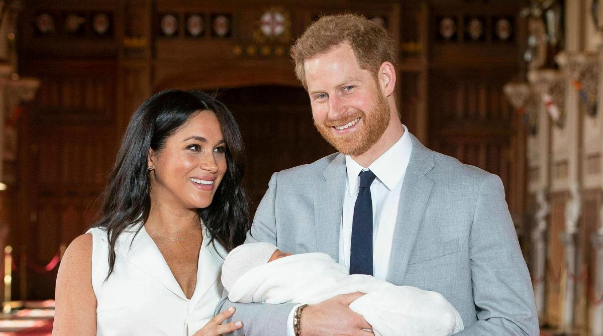 08 de enero 2020, Duques de Sussex, Familia Real Británica, Príncipe Harry,. Meghan Markle, Bebé, Pareja, Esposos, Bebé
