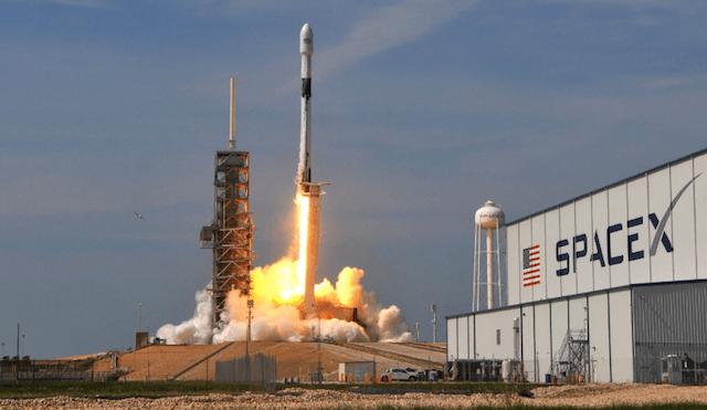13 de enero 2020, spacex, cohete
