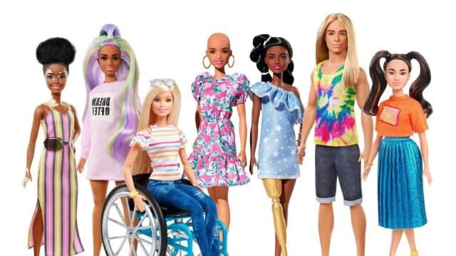 13 de febrero 2020, Barbie inclusiva, Muñecas, Mattel, Barbies