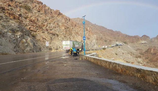 5 de febrero de 2020, carretera la Rumorosa, Baja California (Imagen: Facebook @FIARUM GobBC)