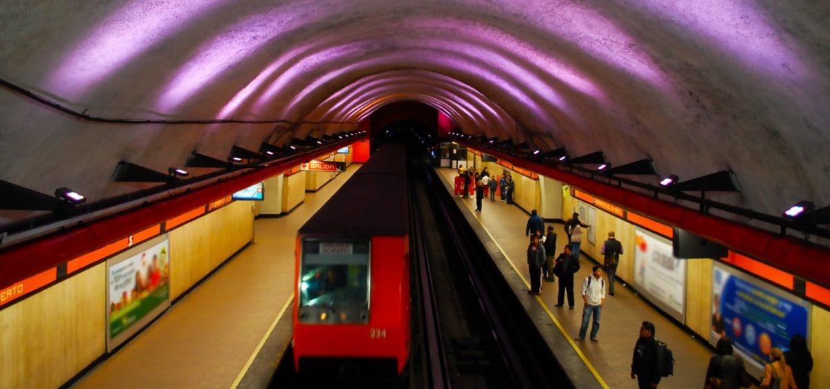 6 de febrero de 2020, instalaciones al interior del Metro de la CDMX (Imagen: Twitter @MetroCDMX)