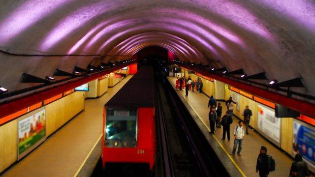 instalaciones al interior del Metro de la CDMX (Imagen: Twitter @MetroCDMX)
