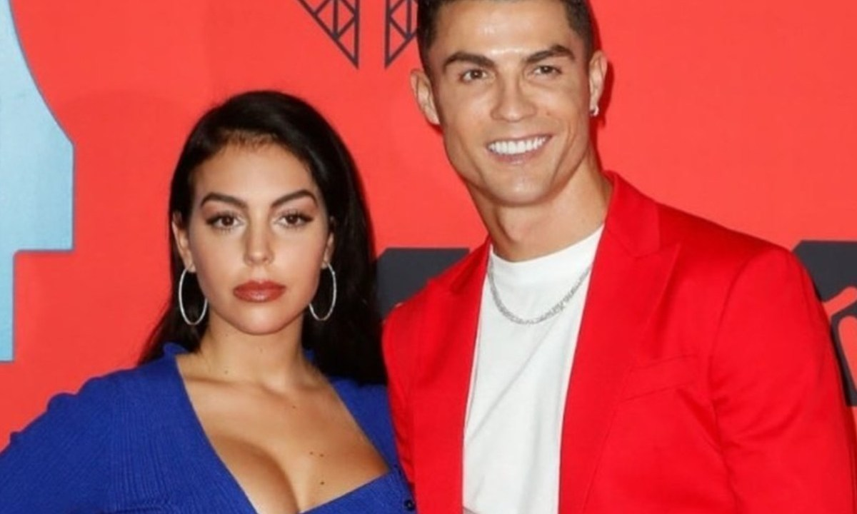 18 de febrero de 2020, Georgina Rodríguez y Cristiano Ronaldo (Imagen: Twitter @Cristiano)