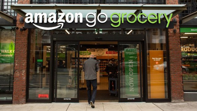06 de marzo 2020, Tienda de Amazon, Amazon, Tienda física, Supermercado