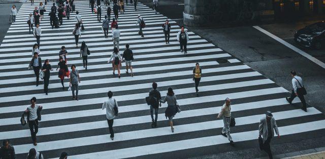 movilidad de peatones (Imagen: Unsplash)