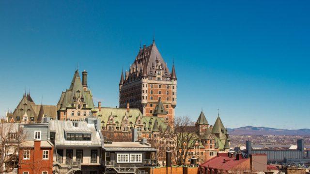 2 de marzo de 2020, construcciones en Quebec, Canadá (Imagen: Unsplash)