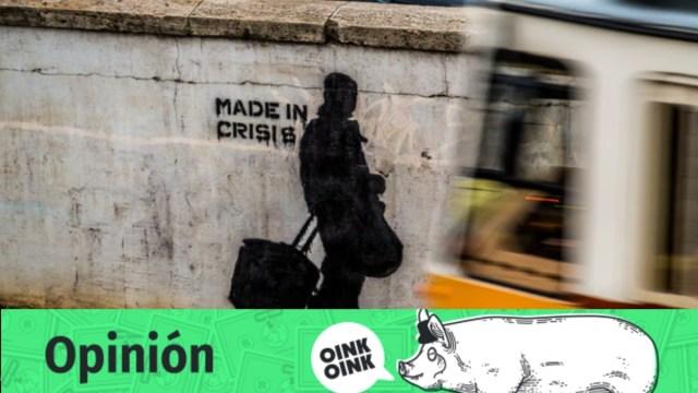 tiempos de crisis, emergencia, graffiti