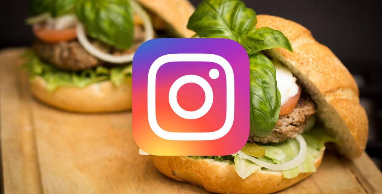 Instagram, comida, domicilio