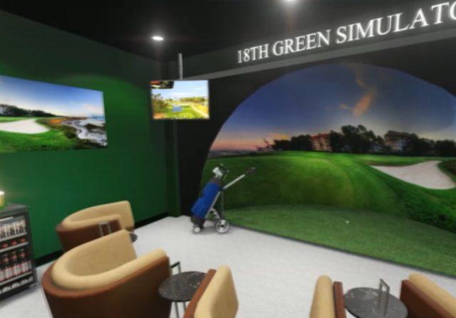 Golf de un bunker (Imagen: survivalcondo.com)