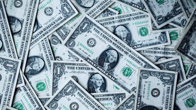 Mosáico de dólares (Imagen: Unsplash)
