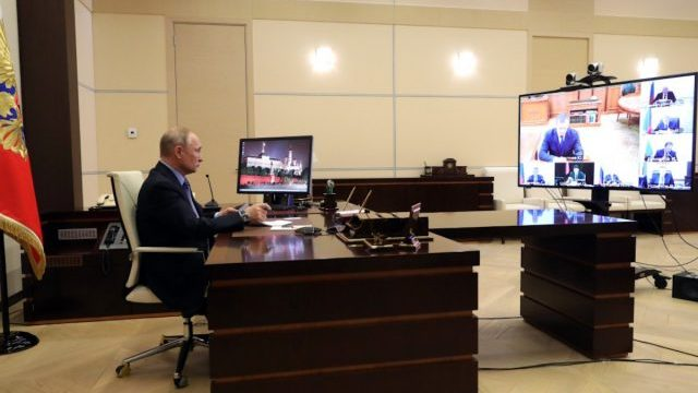 El presidente de Rusia Vladimir Putin (Imagen: Twitter @KremlinRussia)