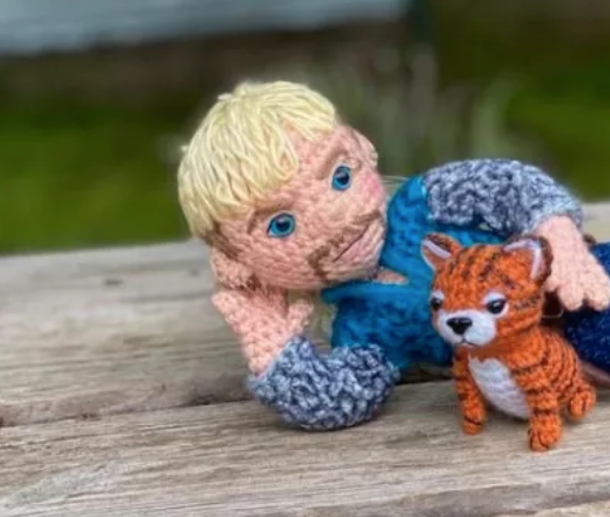 Personaje de la serie Tiger King (Imagen: Etsy | craftyiscoolcrochet)