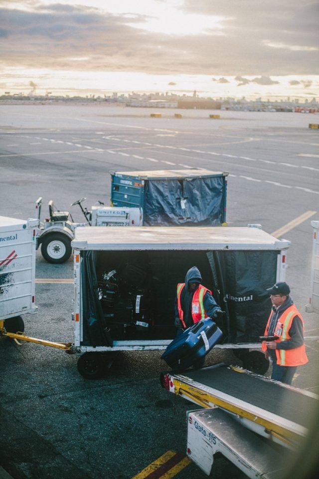 Trabajadores aeropuertos