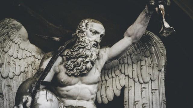 Teología política, Angél, Dios, Estado