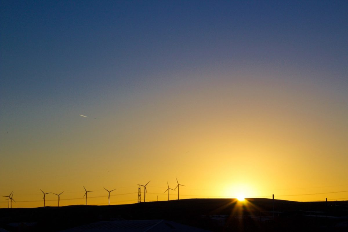 Energía eólica (Imagen: Unsplash)