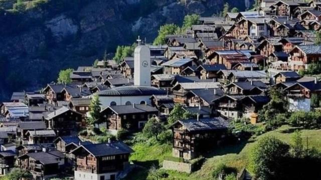 Aldea de Suiza, Suiza, Aldeas