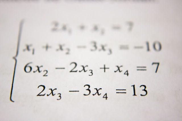 Aprendizaje de matemáticas (Imagen: Unsplash)