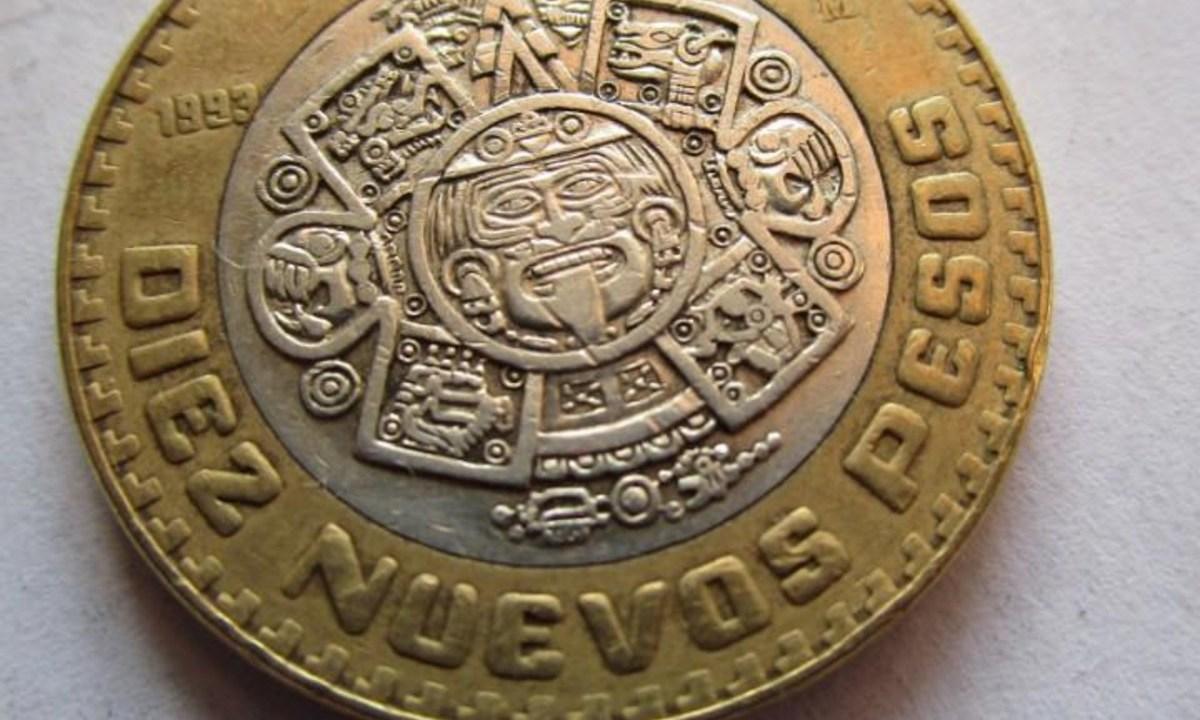Moneda de 10 pesos, Monedas, Dinero, 10 pesos, Pesos Mexicanos