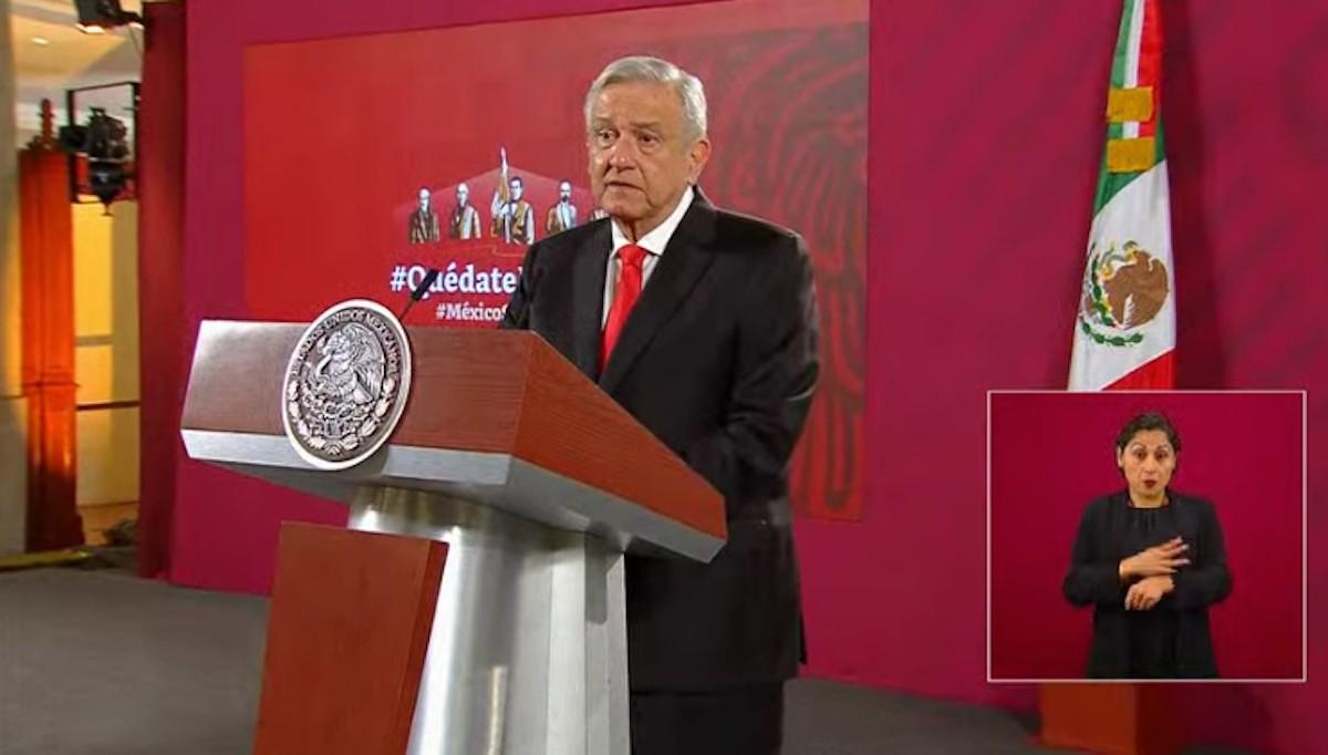 Presidente de México, Andrés Manuel López Obrador, presenta proyecto de pensiones (Imagen: Youtube: Andrés Manuel López Obrador)
