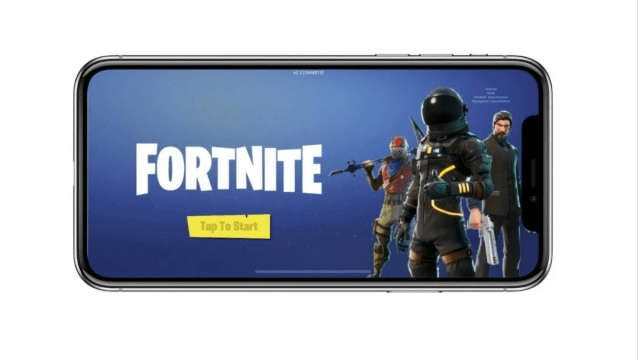 iPhone con Fortnite, Fornite para iPhone, Apple, iPhone
