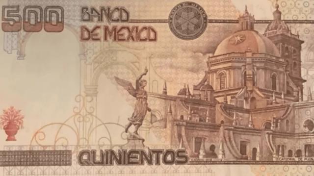 500 pesos en billete de Ignacio Zaragoza (Imagen: Twitter @AntoniLooquendo)